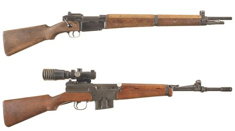 Two French Military Rifles