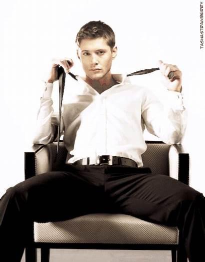 Winchester Jensen Ackles Supernatural Dean Grey Bare