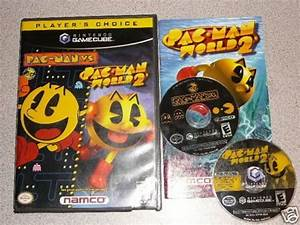 Pac Man Vs Pacman World 2 Nintendo Gamecube Wii 100