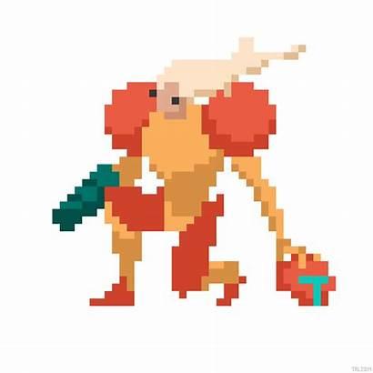 Pixel Nintendo Animations