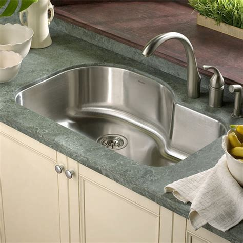 undermount offset single bowl sink kitchen sinks medallion designer series undermount