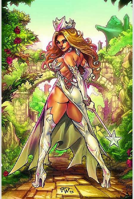 Image - Grimm Fairy Tales Presents Oz Vol 1 4-D-PA.jpg | Zenescope Entertainment Wiki | FANDOM ...