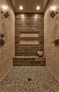 le carrelage beige pour salle de bain 54 photos de With carrelage mosaique sol salle de bain