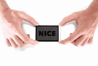 Card Business Nice Meet Case Open Hands