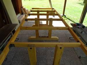 emejing fabriquer table jardin composite pictures design With comment faire une terrasse en composite