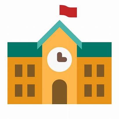 Building Icon Vector Schools Transparent Icons Academy
