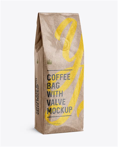 Free kraft paper bag mockup, visualize your design ideas on this mockup of a kraft paper bag in a halfside view. Kraft Paper Food Bag Mockup - Kraft Paper Food Bag Mockup ...