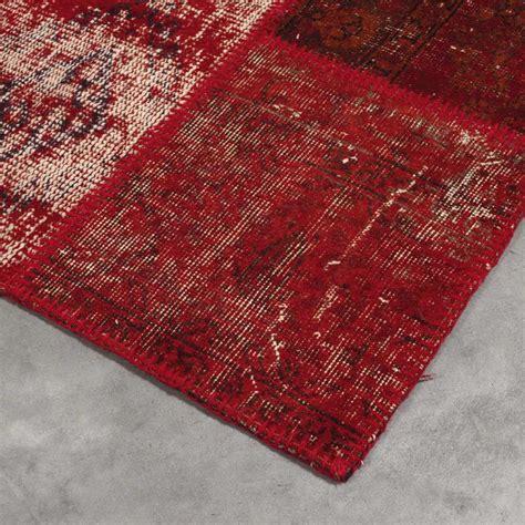 tapis de luxe kilim en style patchwork par angelo