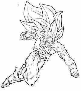 Jogo Goku Para Colorir No Jogos Online Wx