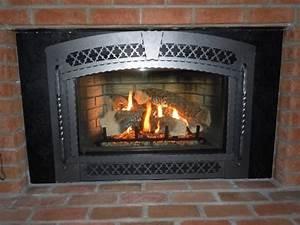 Wood, Burning, Fireplace, Insert, Installation, On, Custom