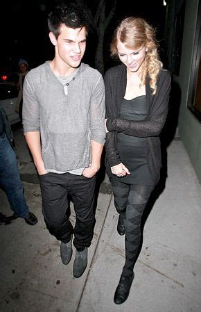 Taylor Swift and Taylor Lautner   Celebridades