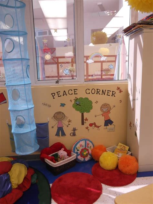 classroom peace corner preschool classroom decor