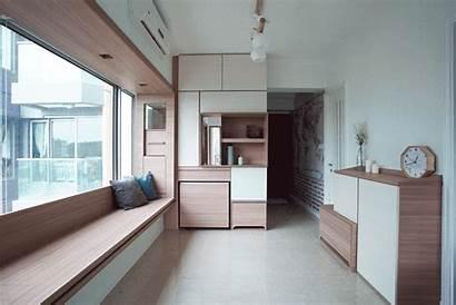Interior Apartment Minimalist Kong Hong Studio Transformer