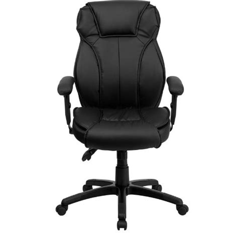 flash furniture high back leather chair black best