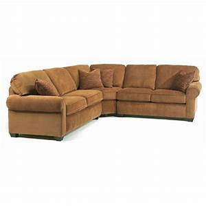 Flexsteel 5535 sect thornton sectional sofa discount for Flexsteel sectional sofa 5535 sect