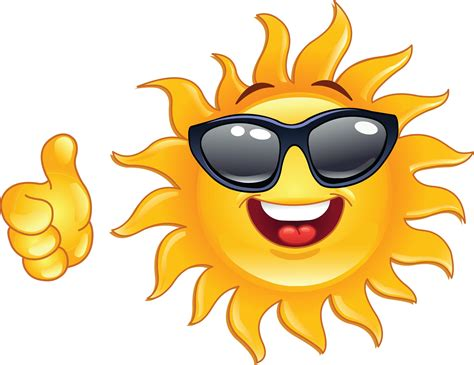Thumbs Up Smiley Face Clip Art   Smiley, Emoticon, Smiling sun
