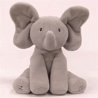 Elephant Boo Peek Animated Plush Flappy Sings