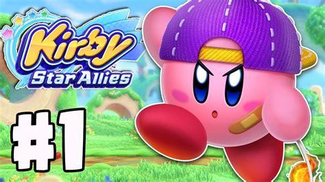 Kirby Star Allies Gameplay Walkthrough Part 1
