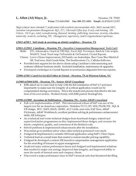 cognos tm1 resume 59 images informatica administrator