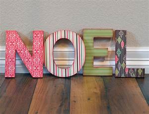Craft ideas and more from davet designs noel christmas for Noel letters