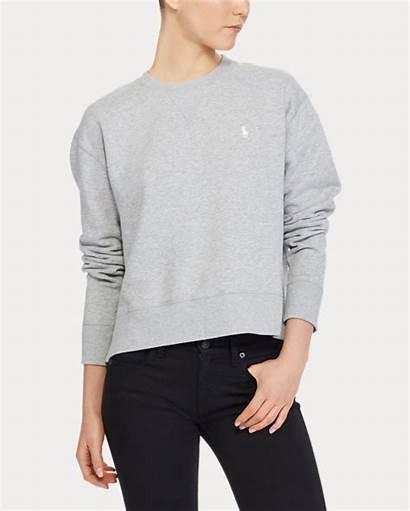 Lauren Ralph Crewneck Polo Fleece Sweatshirt Sweatshirts