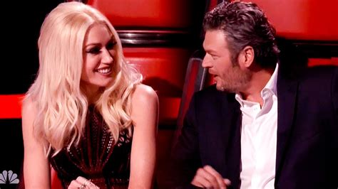blake shelton voice the voice blake shelton and gwen stefani the voice judges