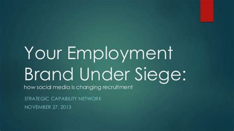 modification siege social your employer brand siege how social media is