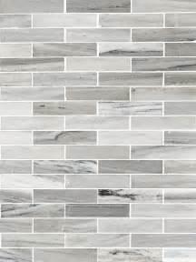what size subway tile for kitchen backsplash modern white gray subway marble backsplash tile