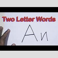 How To Read A Two Letter Word  Two Letter Words  Two Letter Phonics Words Youtube