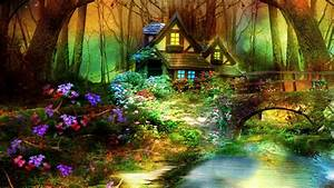 1920x1080 Magic House, Magic Home, Magic Fairy Forest ...