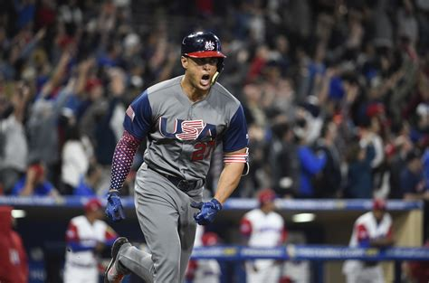 stanton monster home run propels   dominican
