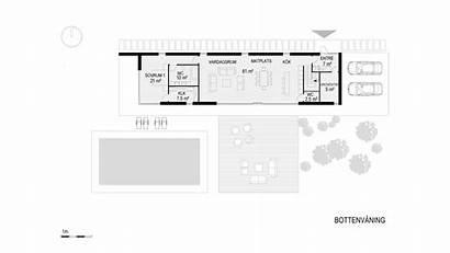Rossi Villa Plan Bottenvaningen