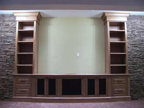Home Theater Cabinets by Front Projection Media Cabinets Traditional Home