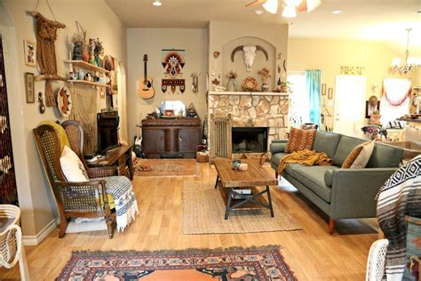 Laura's Earthy Bohemian Living Room — Welcome, Boho Babes