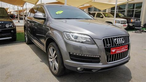 auto air conditioning service 2012 audi q7 transmission control audi q7 for sale aed 70 000 grey silver 2010