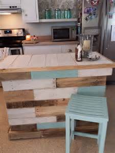 kitchen islands for cheap most easiest but practical recycled pallet ideas that