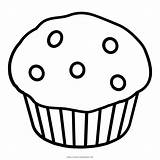 Coloring Muffin Ultra Colorare Disegni Fruit sketch template