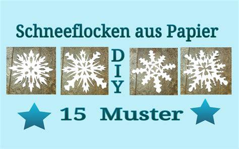 schneeflocken basteln papier schneeflocken aus papier schneiden