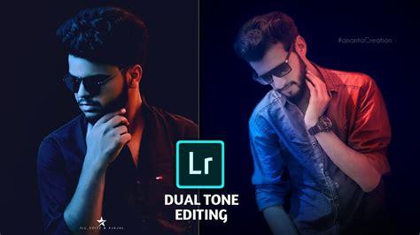 Coloring Lightroom Mobile by Dual Tone Effect In Lightroom Mobile Tutorial Portrait