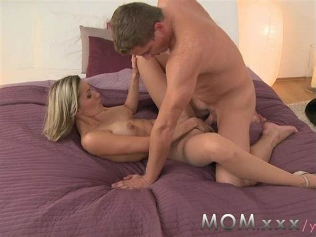 #Mom #Blonde #Milf #Makes #Love #To #Her #Man