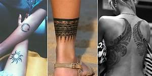 Tatouage Trait Bras : le tatouage tribal en 14 mod les qui donnent envie d 39 un tattoo traditionnel ~ Melissatoandfro.com Idées de Décoration