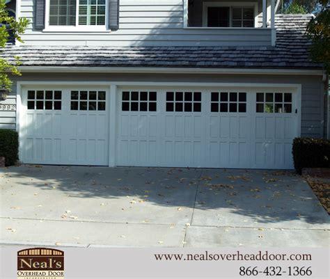craftsman style custom garage doors designs