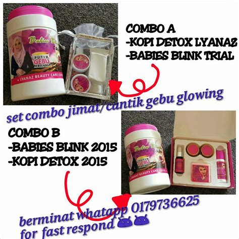 Tas G Ci Set 5in1 hadinie kecantikkan luaran dan dalaman produk babies