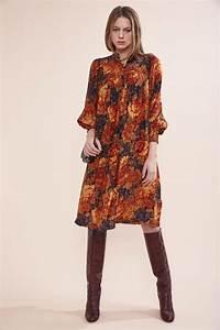 Bottines Avec Robe : robe hiver shopping des robes de l 39 automne hiver album photo aufeminin ~ Carolinahurricanesstore.com Idées de Décoration