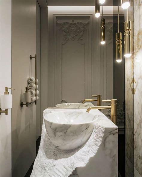 Badezimmer Ideen Gold by 50 Badezimmer Ideen Mit Gold Touches Badezimmer