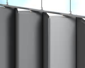 retractable acoustic curtains for industrial spaces amcraft