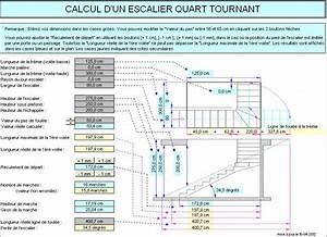 Calcul Escalier Quart Tournant : image gallery plans d 39 escaliers ~ Dailycaller-alerts.com Idées de Décoration