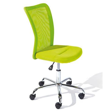 fauteuil de bureau enfant fauteuil de bureau enfant quot colors quot vert