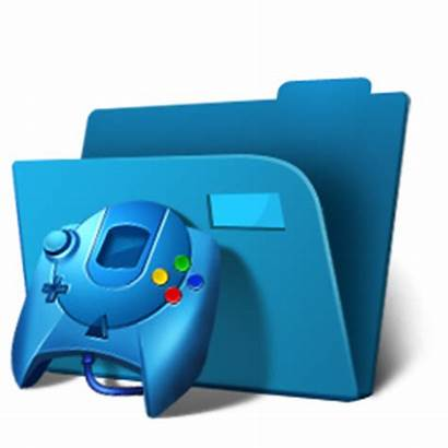 Folder Icon Games Ico Icons Gaming Cool