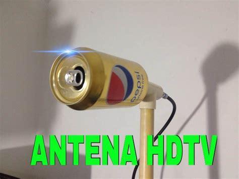 Como Hacer Una Antena De Tv Potente